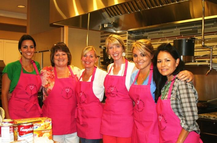Diane Donald, Sara Moores, Amy Wilson, Taylor Fowler, Lynn Fowler