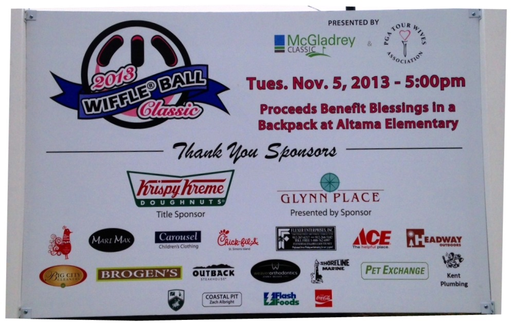 Thank you to our 2013 Wiffle Ball Classic Sponsors!